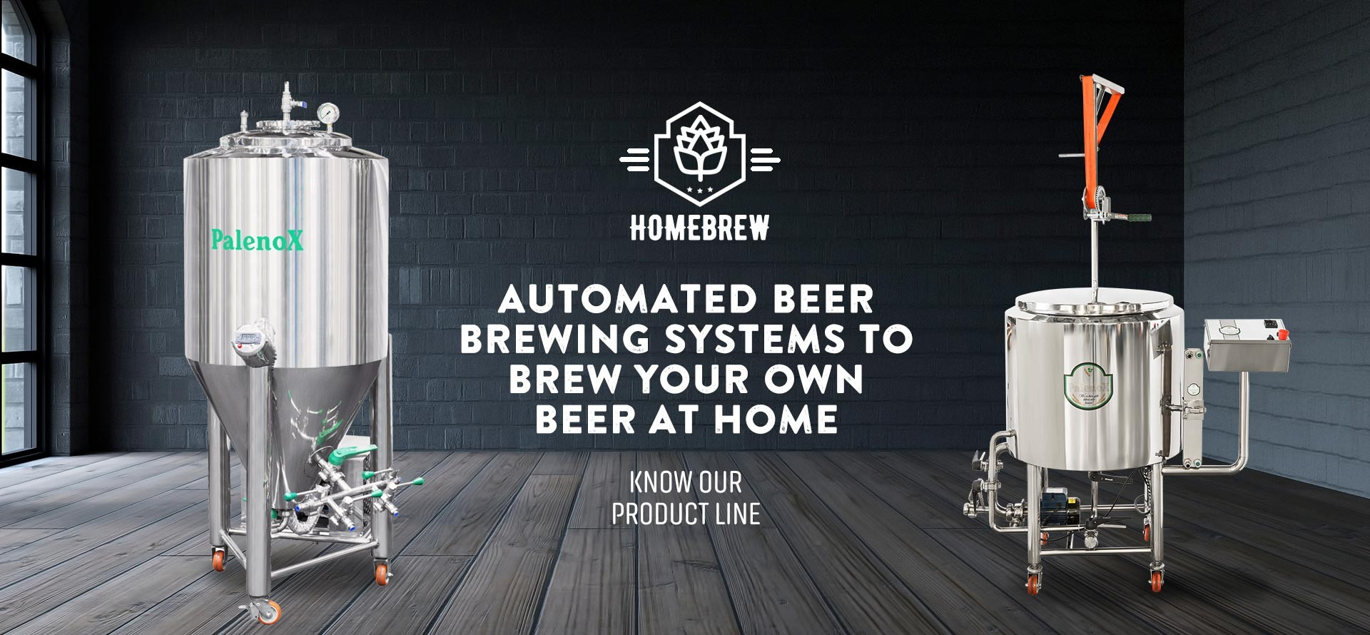 Palenox Automated Brewing Systems